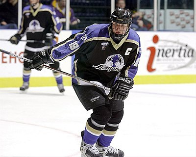 Vanek with the Sioux Falls Stampede in 2002 Thomas Vanek (2002) Sioux Falls Stampede.jpg