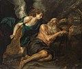 Thomas Willeboirts Bosschaert - Prophet Elias, vom Engel gespeist - GG 1723 - Kunsthistorisches Museum.jpg