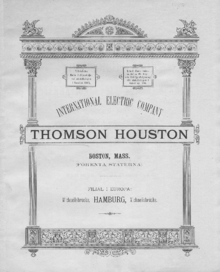 Image result for thomson houston