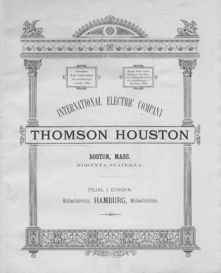 Thomson houston electric company