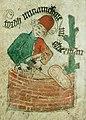 Thord murmästare, den första åldermannen i Murmestare Embetet i Stockholm, 1487.jpg