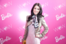 Tiffany Giardina at the Barbie Dream Closet Event at Mercedes Benz Fashion Week in February 2012.png