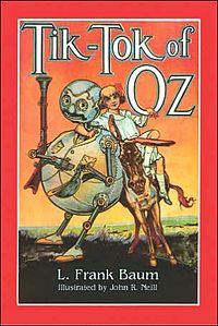 Cover of Tik-Tok of Oz.