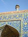 Tilework, Imam (Shah) Mosque, Isfahan (14950241972).jpg