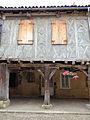 Tillac - Maisons à colombages de la rue principale - côté nord -5.JPG