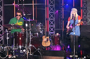 The Ting Tings - Performing at South by Southwest in 2008
