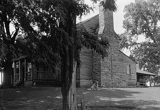 Tipton-Haynes State Historic Site - Tipton-Haynes House in 1936