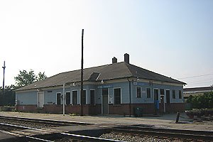 Toccoa, Georgia - Toccoa Amtrak Station