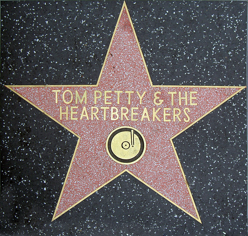 Tom Petty Walk of Fame.JPG