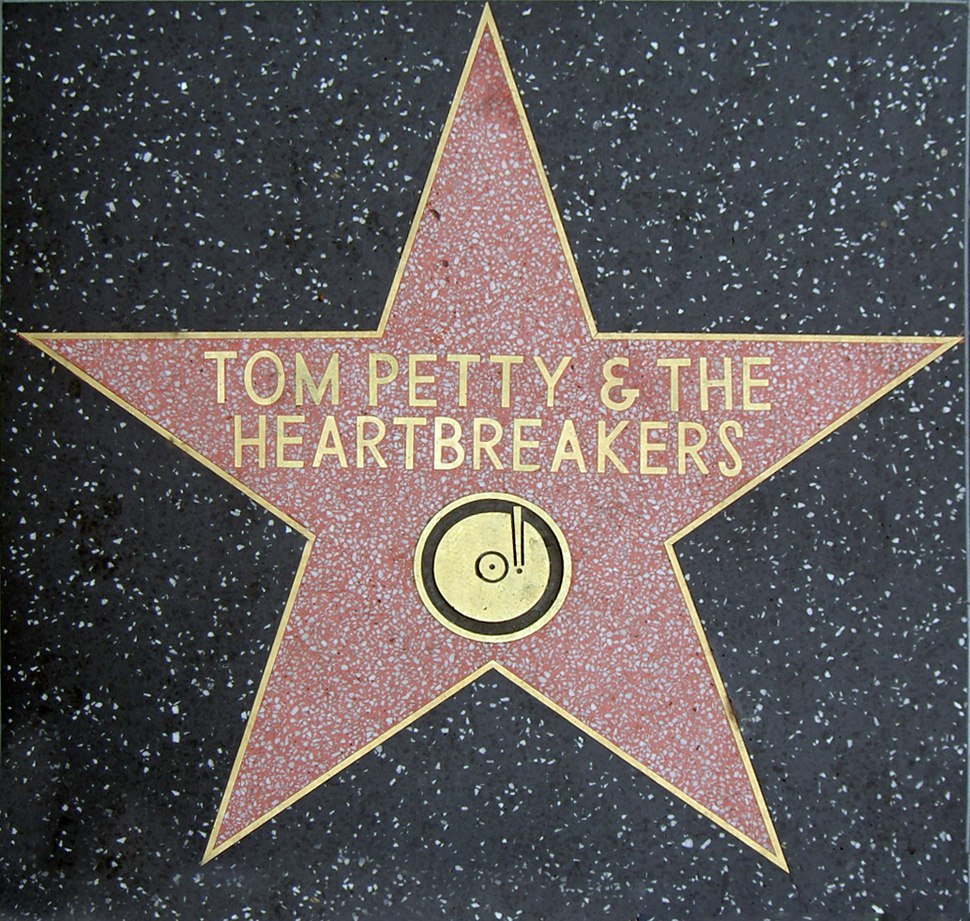 Tom Petty Walk of Fame