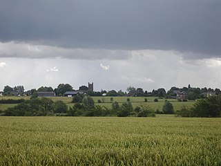 Toppesfield village in United Kingdom