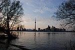 Toronto Dusk Skyline from Center Island.JPG