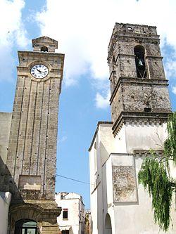 Torre orologio e campanaria.JPG