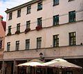 Toruń, fasada kamienicy, XIX, ul. Różana 5 (Ola Z.).JPG