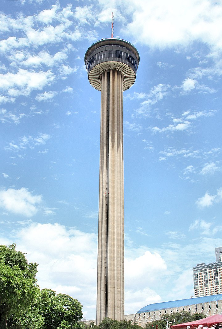 La Tower of the Americas.