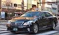 Toyota Crown RoyalSaloon TOKYO RINKAI KOUTSU Checker Cab.jpg