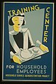 Training center for household employees-Household Service Demonstration Project, W.P.A LCCN98509724.jpg