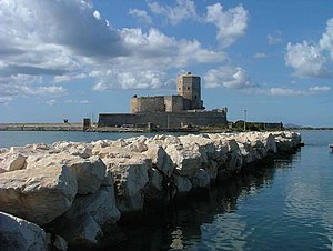 Torre Colombaia, Trapani, Sicilia, Italia