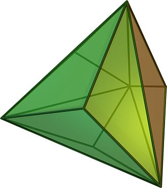 Catalan solid - Triakis tetrahedron
