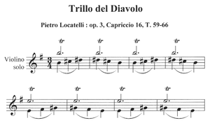 "Pietro Locatelli - ""Trillo del Diavolo"" from Op. 3, Capriccio 16"