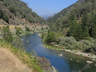 Trinity River (California) - Trinity River near Weaverville