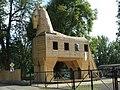 Trojan horse in Troja, Prague 2717.JPG
