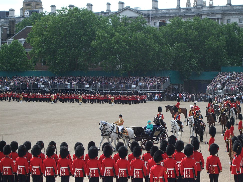 Trooping the Colour Inspection