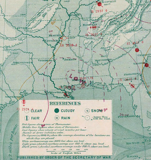 1872 Atlantic hurricane season - Image: Tropical Storm One analysis 11 Jul 1872