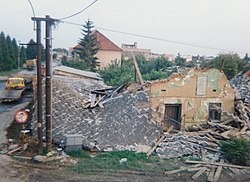 Troubky after 1997 flooding