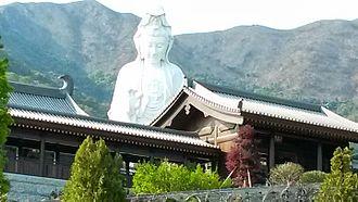 Tsz Shan Monastery - Bronze Guanyin statue, 76 meters