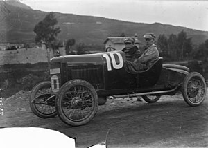 "Chiribiri - Mario Tuccimei with Chiribiri ""Roma 5000"" at Targa Florio 1922"
