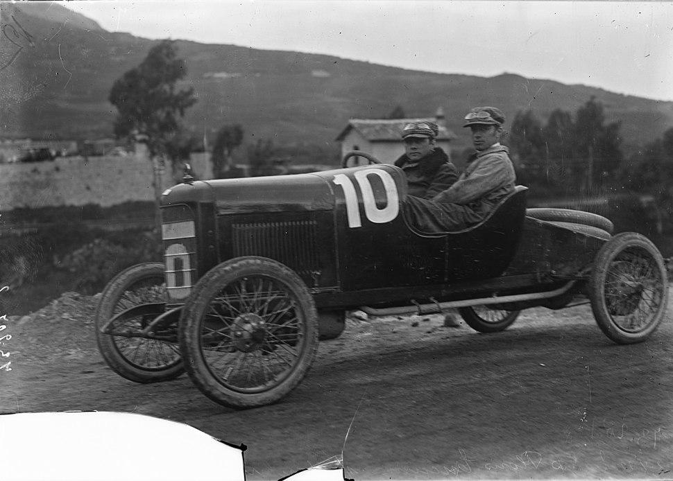 Tuccimei in his Chiribiri at the 1922 Targa Florio