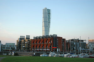 Turning Torso - Image: Turning Torso by dkcp