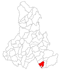 Location of Tușnad