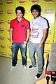 Tusshar Kapoor, Riteish Deshmukh Kyaa Super Kool Hain Hum' team at 98.3 FM Radio Mirchi 03.jpg