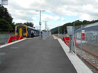 Tweedbank railway station