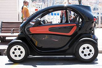 Microcar - 2012 Renault Twizy quadricycle