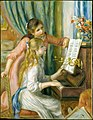 Two Young Girls at the Piano MET DT720.jpg