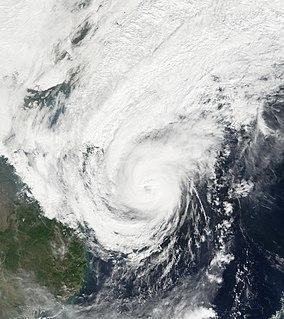 Typhoon Utor (2006) Pacific typhoon in 2006
