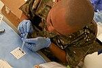 U.S. Marines and Sailors donate blood in Helmand Province 140814-M-EN264-134.jpg