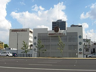 Universidad de las Américas, A.C. - UDLA Campus on Chapultepec Ave in Mexico City