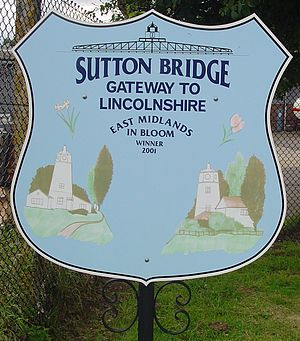 Sutton Bridge - Signpost in Sutton Bridge.