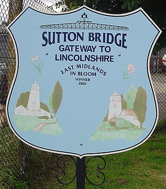 Sutton Bridge - Signpost in Sutton Bridge