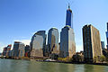 USA-NYC-Battery Park City from Hudson River0.JPG