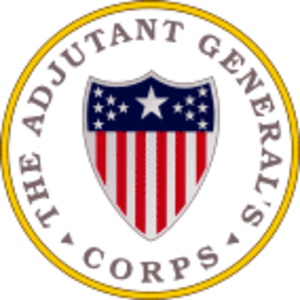 Adjutant general - US Army Adjutant General Corps