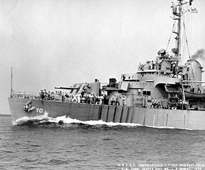 Owasco-class cutter - USCGC Pontchartrain (WPG-70).