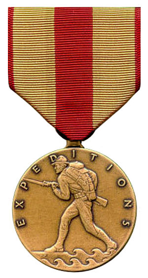 Marine Corps Expeditionary Medal - Image: USMC Ex Med
