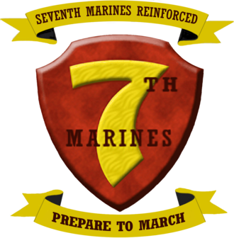 7th Marine Regiment (United States) - 7th Marine Regiment insignia