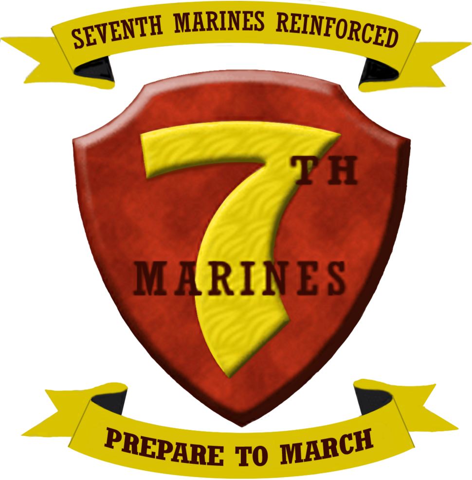 USMC - 7th Marine Regiment New Logo