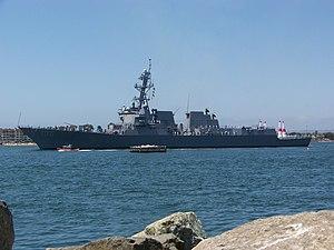 USS Kidd (DDG-100) - USS Kidd in San Diego in May 2008